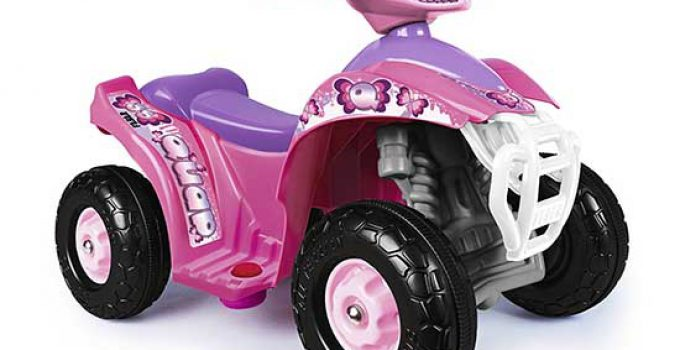 Famosa 800007470 Feber Racing Girl Quad Elettrico per bambine 6v