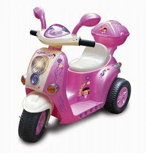 MOTO ELETTRICA 6V rosa bambine