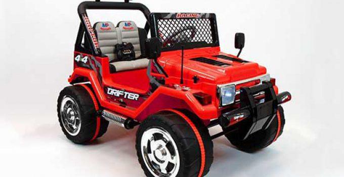 grande jeep per bambini 2 posti e telecomando