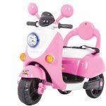 Scooter Bakaji rosa per bambine 6v