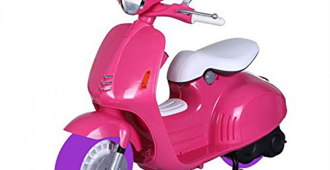 motoretta elettrica per bambina 12v rosa